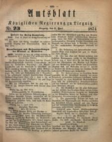 Amts-Blatt der Königlichen Regierung zu Liegnitz, 1874, Jg. 64, Nr. 23