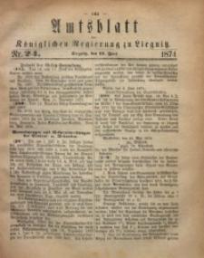 Amts-Blatt der Königlichen Regierung zu Liegnitz, 1874, Jg. 64, Nr. 24