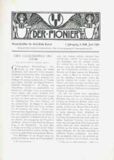 Der Pionier. Monatsblätter für Christliche Kunst. Jg. 1, h. 9.