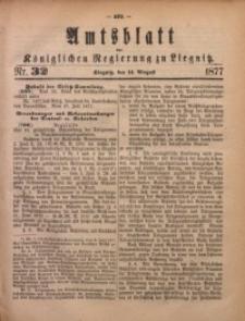 Amts-Blatt der Königlichen Regierung zu Liegnitz, 1877, Jg. 67, Nr. 32