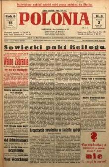 Polonia, 1929, R. 6, nr 3