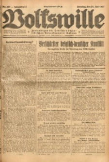 Volkswille, 1927, Jg. 12, Nr. 167