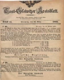 Tost-Gleiwitzer Kreisblatt, 1872, Jg. 30, St. 11