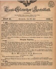 Tost-Gleiwitzer Kreisblatt, 1872, Jg. 30, St. 31