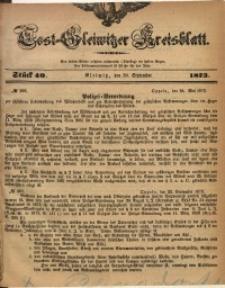 Tost-Gleiwitzer Kreisblatt, 1873, Jg. 31, St. 40