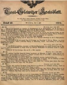 Tost-Gleiwitzer Kreisblatt, 1874, Jg. 32, St. 27