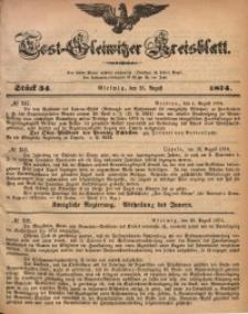 Tost-Gleiwitzer Kreisblatt, 1874, Jg. 32, St. 34
