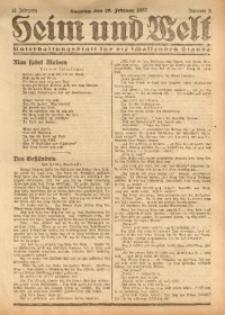 Heim und Welt, 1927, Jg. 12, Nr. 8