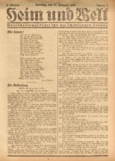Heim und Welt, 1927, Jg. 12, Nr. 9