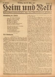 Heim und Welt, 1927, Jg. 12, Nr. 12