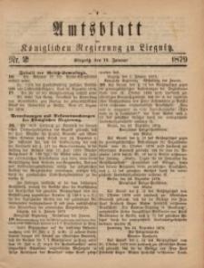Amts-Blatt der Königlichen Regierung zu Liegnitz, 1879, Jg. 69, Nr. 2