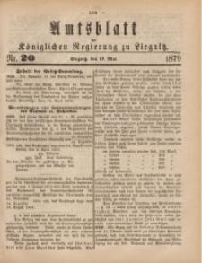 Amts-Blatt der Königlichen Regierung zu Liegnitz, 1879, Jg. 69, Nr. 20
