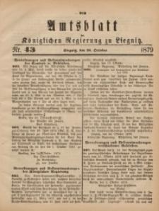 Amts-Blatt der Königlichen Regierung zu Liegnitz, 1879, Jg. 69, Nr. 43