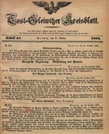 Tost-Gleiwitzer Kreisblatt, 1876, Jg. 34, St. 45