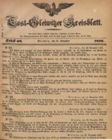 Tost-Gleiwitzer Kreisblatt, 1876, Jg. 34, St. 48