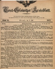 Tost-Gleiwitzer Kreisblatt, 1877, Jg. 35, St. 31