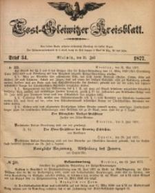 Tost-Gleiwitzer Kreisblatt, 1877, Jg. 35, St. 34