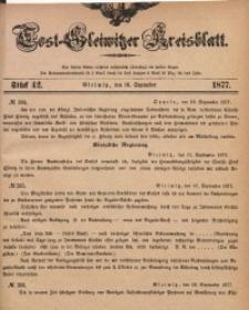 Tost-Gleiwitzer Kreisblatt, 1877, Jg. 35, St. 42