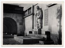Lwów. Cmentarz Obrońców Lwowa. Pomnik Francuzów poległych za Polskę