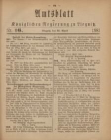 Amts-Blatt der Königlichen Regierung zu Liegnitz, 1881, Jg. 71, Nr. 16