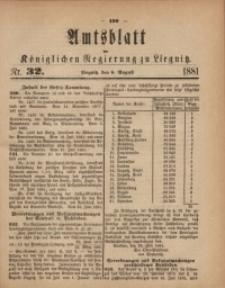 Amts-Blatt der Königlichen Regierung zu Liegnitz, 1881, Jg. 71, Nr. 32