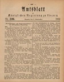 Amts-Blatt der Königlichen Regierung zu Liegnitz, 1881, Jg. 71, Nr. 36