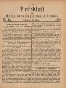 Amts-Blatt der Königlichen Regierung zu Liegnitz, 1882, Jg. 72, Nr. 4