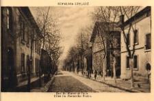 Kopalnia Czeladź. Rue du Maréchal Foch. Ulica im. Marszałka Focha