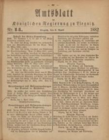 Amts-Blatt der Königlichen Regierung zu Liegnitz, 1882, Jg. 72, Nr. 14