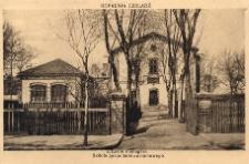 Kopalnia Czeladź. L'Ecole menagère. Szkoła gospodarstwa domowego