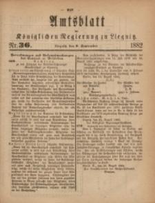 Amts-Blatt der Königlichen Regierung zu Liegnitz, 1882, Jg. 72, Nr. 36