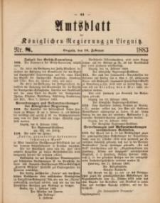 Amts-Blatt der Königlichen Regierung zu Liegnitz, 1883, Jg. 73, Nr. 8