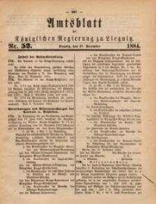 Amtsblatt der Königlichen Regierung zu Liegnitz, 1884, Jg. 74, Nr. 52
