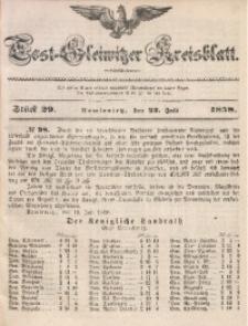 Tost-Gleiwitzer Kreisblatt, 1858, Jg. 16, St. 29