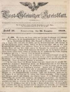 Tost-Gleiwitzer Kreisblatt, 1858, Jg. 16, St. 51