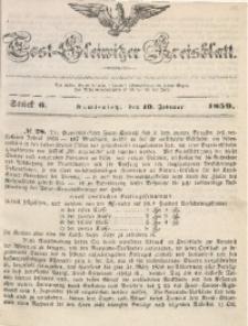 Tost-Gleiwitzer Kreisblatt, 1859, Jg. 17, St. 6