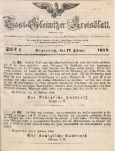 Tost-Gleiwitzer Kreisblatt, 1859, Jg. 17, St. 7