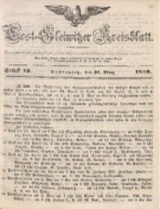Tost-Gleiwitzer Kreisblatt, 1859, Jg. 17, St. 13