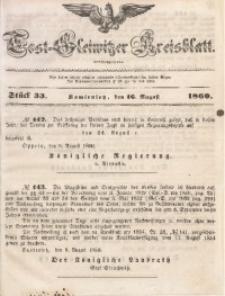 Tost-Gleiwitzer Kreisblatt, 1860, Jg. 18, St. 33