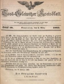 Tost-Gleiwitzer Kreisblatt, 1863, Jg. 21, St. 10