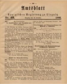 Amtsblatt der Königlichen Regierung zu Liegnitz, 1886, Jg. 76, Nr. 42