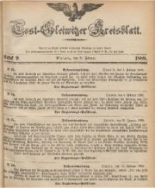 Tost-Gleiwitzer Kreisblatt, 1888, Jg. 46, St. 9