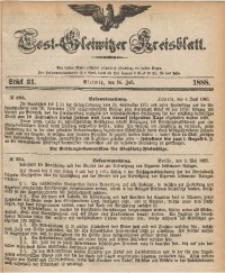 Tost-Gleiwitzer Kreisblatt, 1888, Jg. 46, St. 31