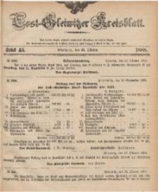 Tost-Gleiwitzer Kreisblatt, 1888, Jg. 46, St. 45