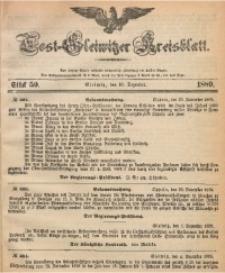 Tost-Gleiwitzer Kreisblatt, 1889, Jg. 47, St. 50
