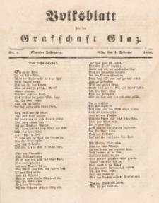Volksblatt für die Grafschaft Glatz, 1848, Jg. 9, Nr. 5
