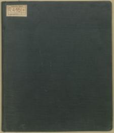 """Nach Rückkehr von Dresden, Hamburg, Jena, Halle am 27. Januar 1906"""" [bis 30. Juni 1908]"""