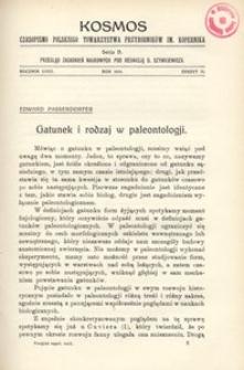 Kosmos. Serja B, 1933, R. 58, z. 2