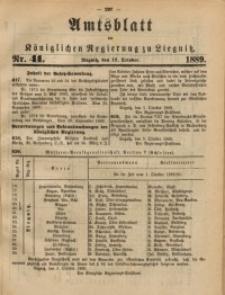 Amtsblatt der Königlichen Regierung zu Liegnitz, 1889, Jg. 79, Nr. 41
