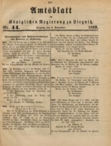 Amtsblatt der Königlichen Regierung zu Liegnitz, 1889, Jg. 79, Nr. 44